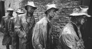 Statues of men
